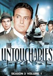 The Untouchables Season 3, Vol. 1 DVD cover art