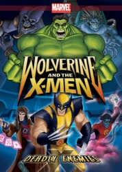 Wolverine and the X-Men: Deadly Enemies DVD cover art