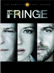 Fringe: The Complete First Season DVD cover art