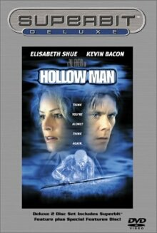 Hollow Man Superbit Deluxe DVD cover art