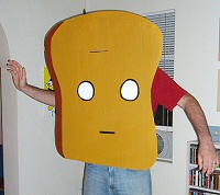 Mr. Toast costume