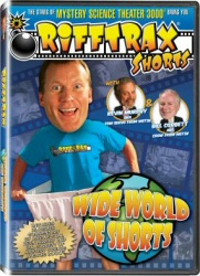 Rifftrax: Wide World of Shorts DVD cover art