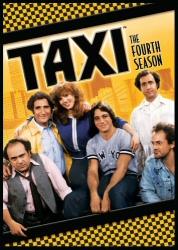 Taxi: The Fourth Season DVD cover art