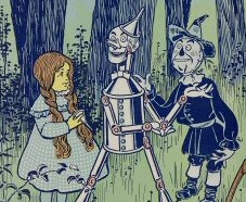 Original Wizard of Oz illustration