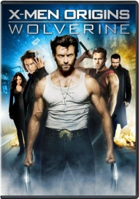 X-Men Origins: Wolverine single-disc DVD cover art