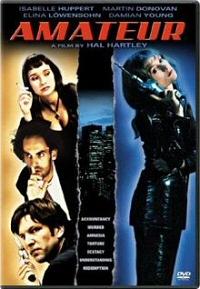 Amateur DVD cover art