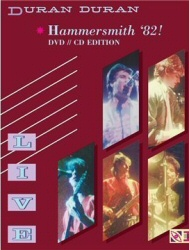Duran Duran: Hammersmith 82! CD/DVD cover art
