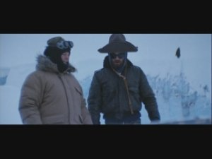 Kurt Russell and hat from The Thing