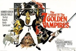 The Legend of the 7 Golden Vampires poster art
