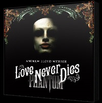 Love Never Dies CD cover art