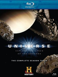 The Universe: The Complete Season Three Blu-Ray cover art