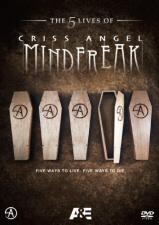 The 5 Lives of Criss Angel: Mindfreak DVD cover art
