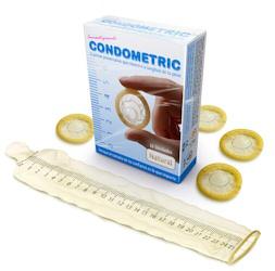 Condometric condoms