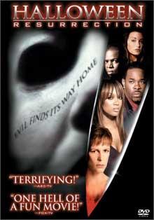 Halloween: Resurrection DVD cover art