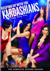 Keeping Up With the Kardashians: The Complete Second Season DVD cover art