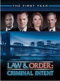 Law and Order: Criminal Intent: The First Year DVD cover art