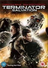Terminator: Salvation Region 2 DVD cover art