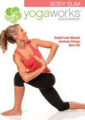 Yogaworks for Everybody: Body Slim DVD cover art