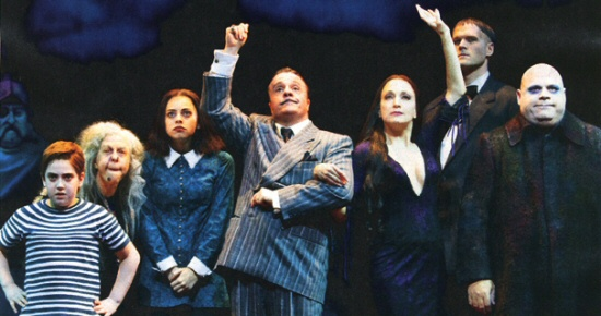 Addams Family: The Musical cast