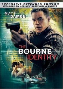 Bourne Identity DVD