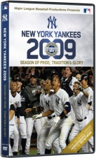 New York Yankees 2009: Season of Pride, Tradition and Glory DVD