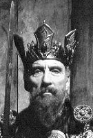 Christopher Lee as Charlemagne