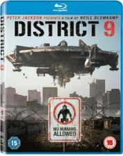 District 9 Region 2 Blu-Ray