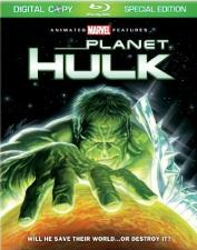 Planet Hulk Blu-Ray