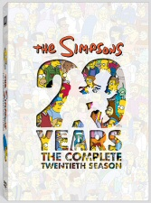 The Simpsons: The Complete Twentieth Season DVD