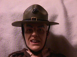 R. Lee Ermey toy closeup