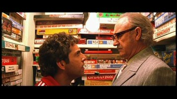Ben Stiller and Gene Hackman in The Royal Tenenbaums