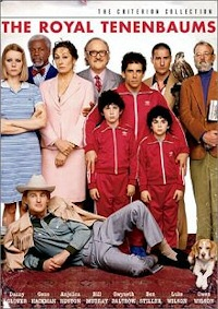 The Royal Tenenbaums DVD cover