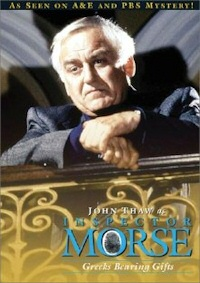 Inspector Morse: Greeks Bearing Gifts DVD cover