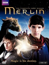 Merlin: The Complete First Season DVD