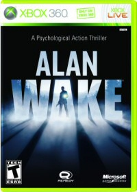 Alan Wake XBox Cover Art