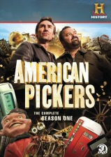 American Pickers Season One DVD Cover Art