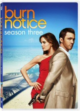 Burn Notice Season 3 DVD Cover Art