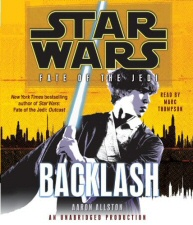 Star Wars: Fate of the Jedi: Backlash audiobook CD