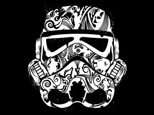 Storm Trooper Mask T-Shirt