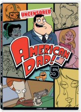 American Dad Volume 5 DVD Cover Art