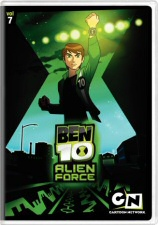 Ben 10: Alien Force Volume 7 DVD Cover Art