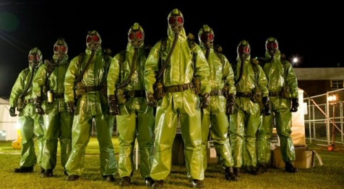 The military from The Crazies
