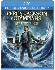 Percy Jackson and the Olympians: The Lightning Thief Blu-ray Cover Art