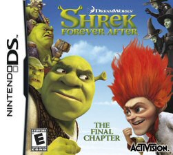 Shrek Forever After DS Cover Art