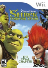 Shrek Forever After Wii Cover Art