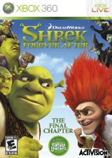 Shrek Forever After Xbox Cover Art