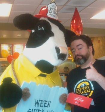 Widge and cow