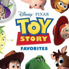 Toy Story Favorites Soundtrack Cover Art
