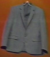 Terrifying disembodied suit
