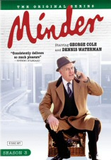 Minder Season 3 DVD Cover Art